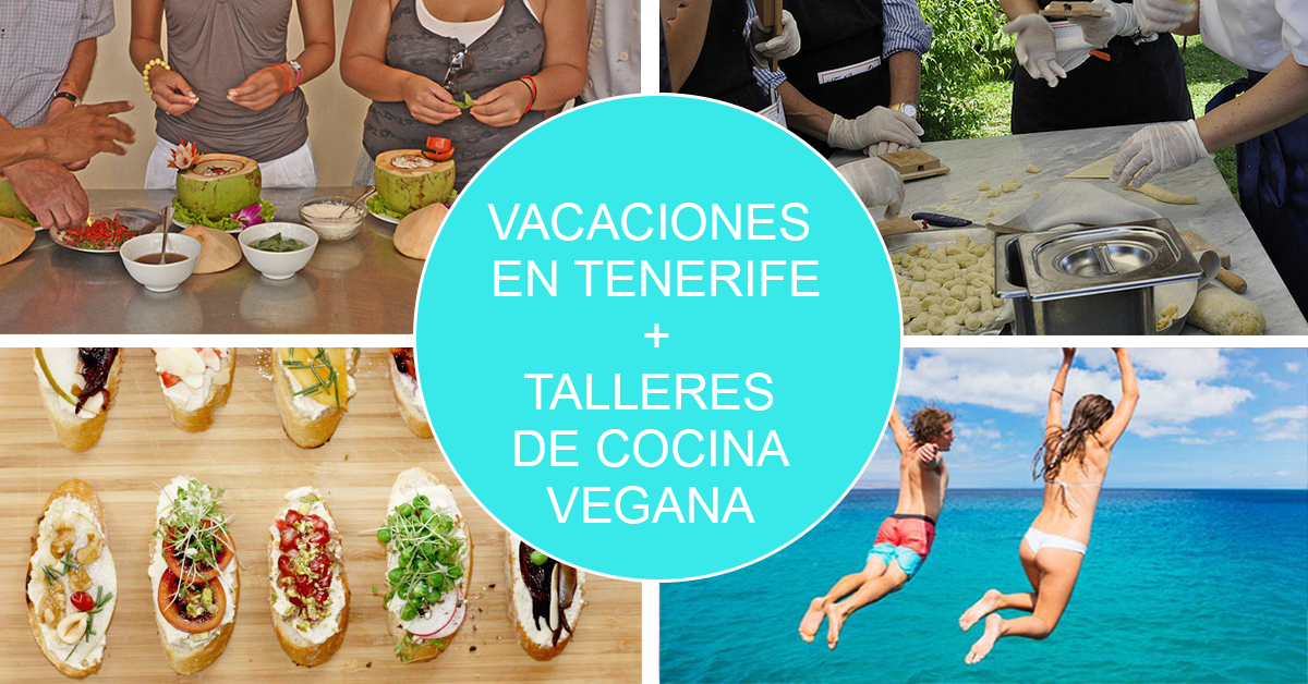 talleres de cocina vegana en Tenerife